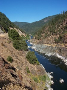 Klamath River Near Happy Camp, CA