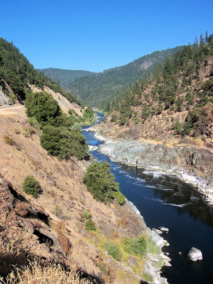 The Klamath River near Happy Camp, CA - photo by Linda Jo Martin - http://rivergirlclaire.com