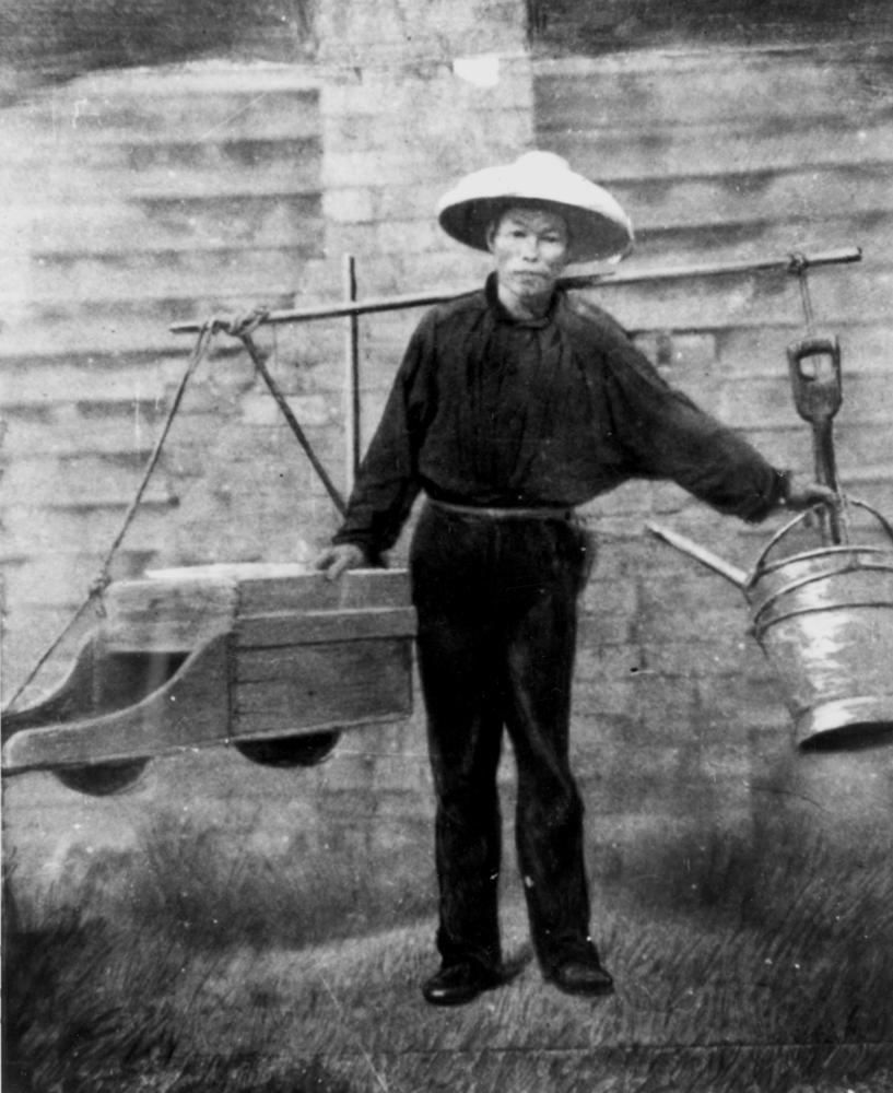 A Chinese miner
